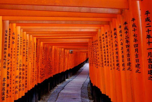 Santuario de Fushimi Inari en Kyoto