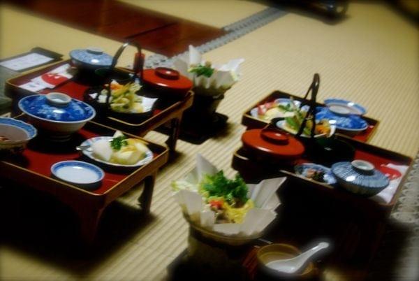 Viaje a Japon: Cena templo Koyasan