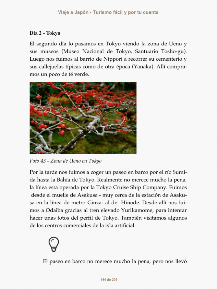 Viaje a Japón previsualización libro 5