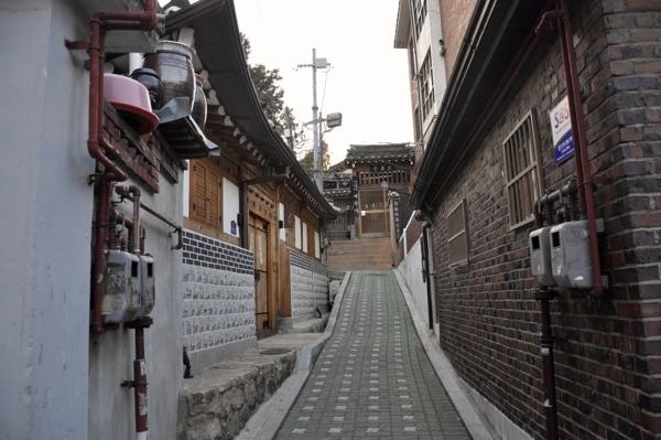 Hanoks en Seul
