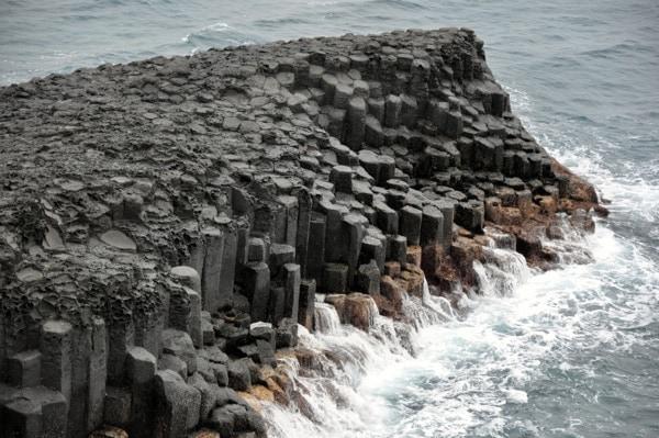 Formaciones de lava en Jeju
