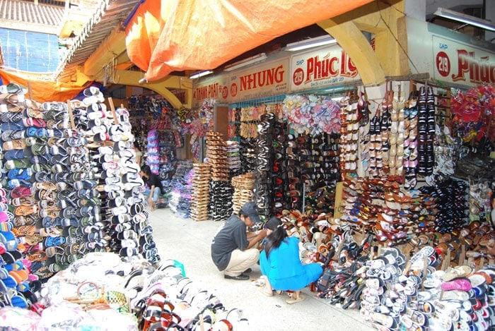 Viajar barato: Mercado en Vietnam