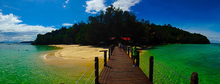 Playa de Borneo