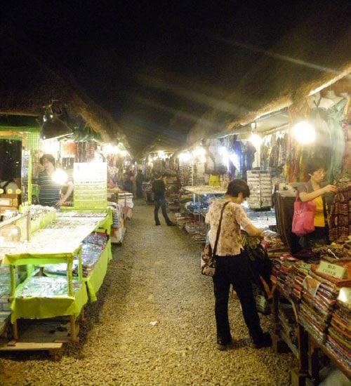 mercado en camboya: siem reap