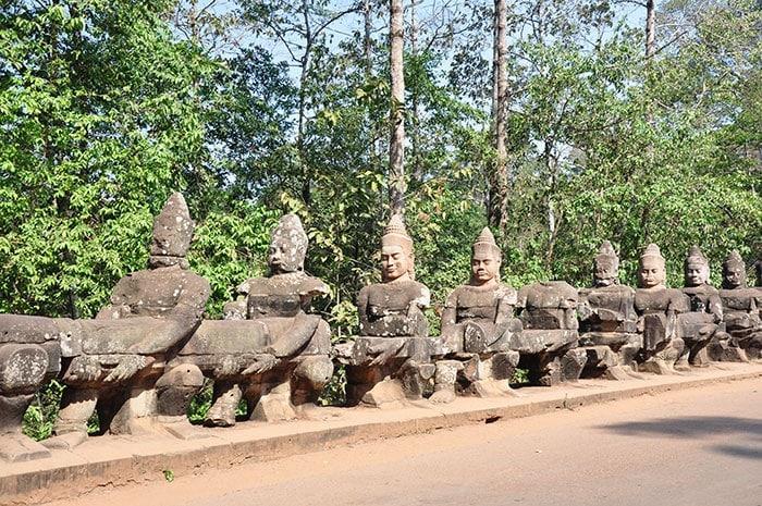 Recorriendo Angkor en Camboya