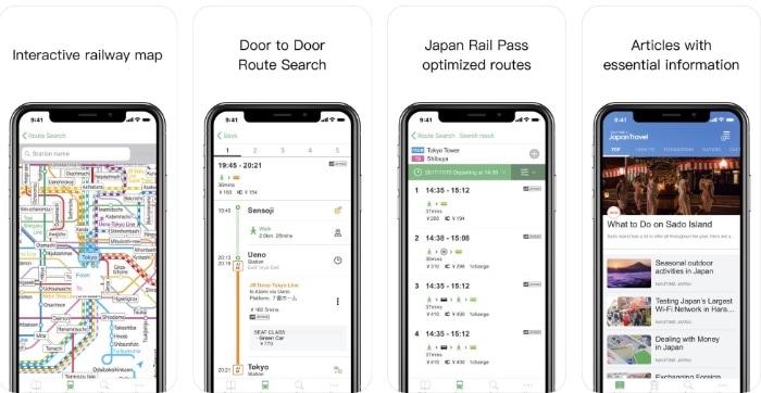 japan travel app
