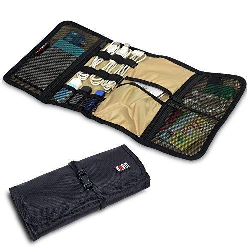 Organizador para viajes Wrap universal (accesorios, electrónica, cables)