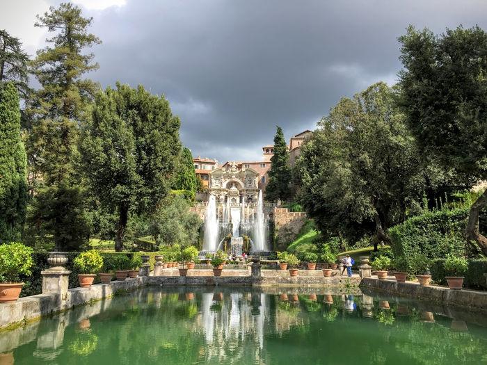 Viaje a Roma y Nápoles con dos niñas gemelas: Tivoli – Día 3