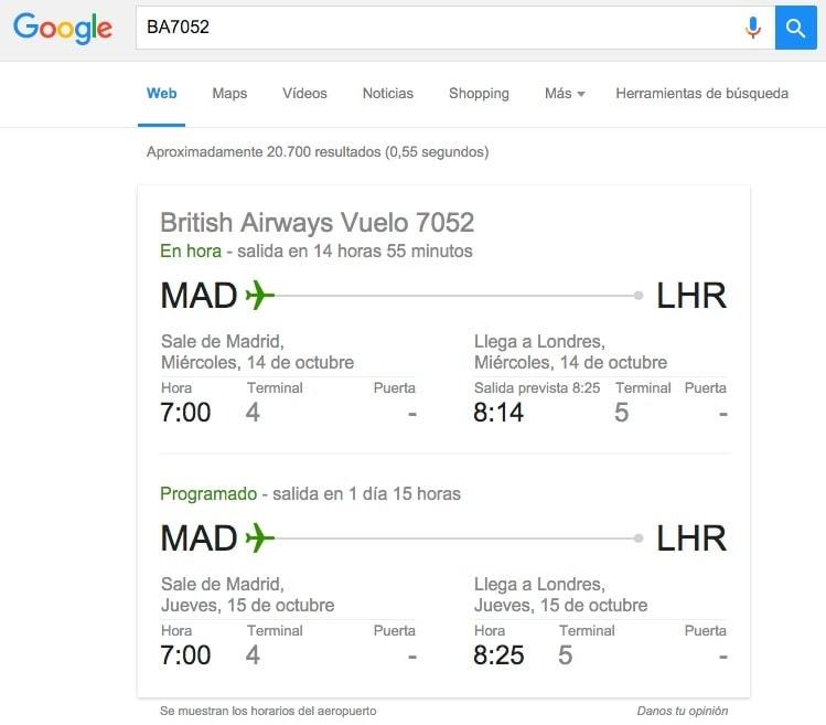 La manera más sencilla y rápida de comprobar si tu vuelo sale en hora y desde que terminal del aeropuerto