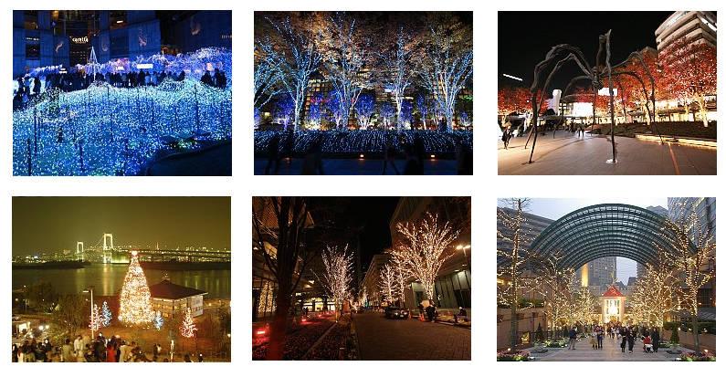 Tokio también celebra la Navidad