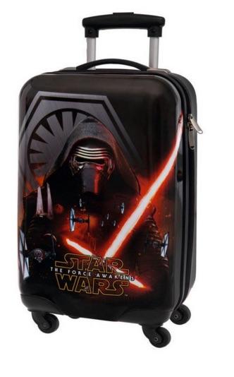 Que la fuerza te acompañe en tu próximo viaje con estas maletas de Star Wars