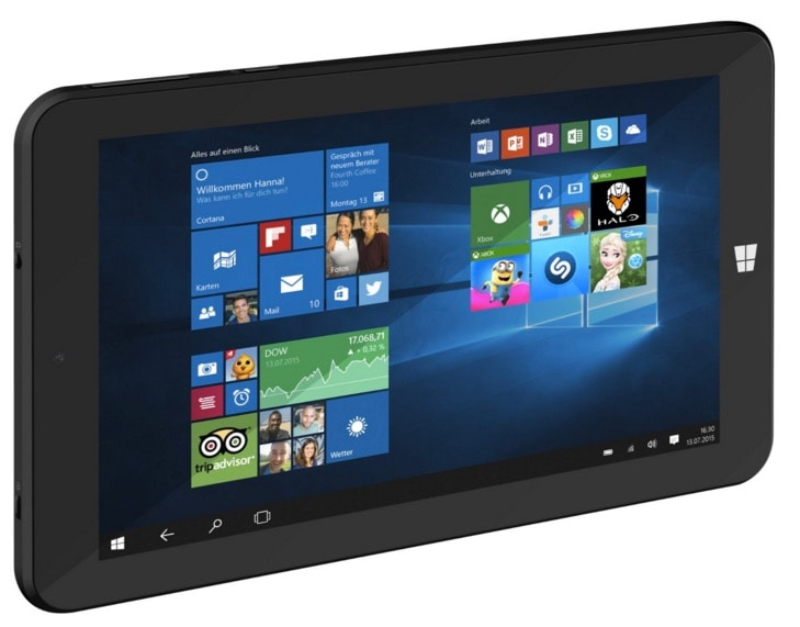 Trekstor SurfTab wintron 7.0: un tablet Windows perfecto para viajar