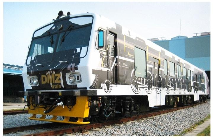 Utiliza el tren turístico para visitar la DMZ de Corea del Sur