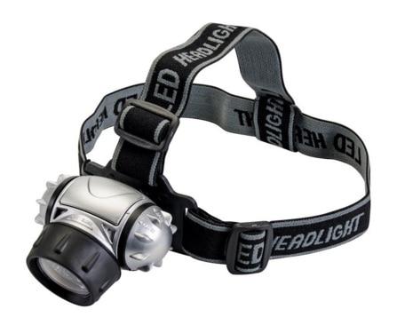 Silverline 140079 - Linterna frontal LED (12 LED)