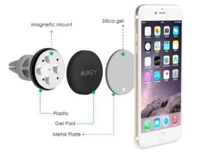 Aukey Air - Soporte de coche para smartphones