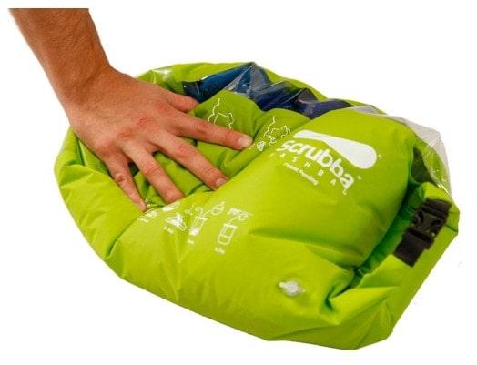Los mejores accesorios para viajeros: bolsa para lavar