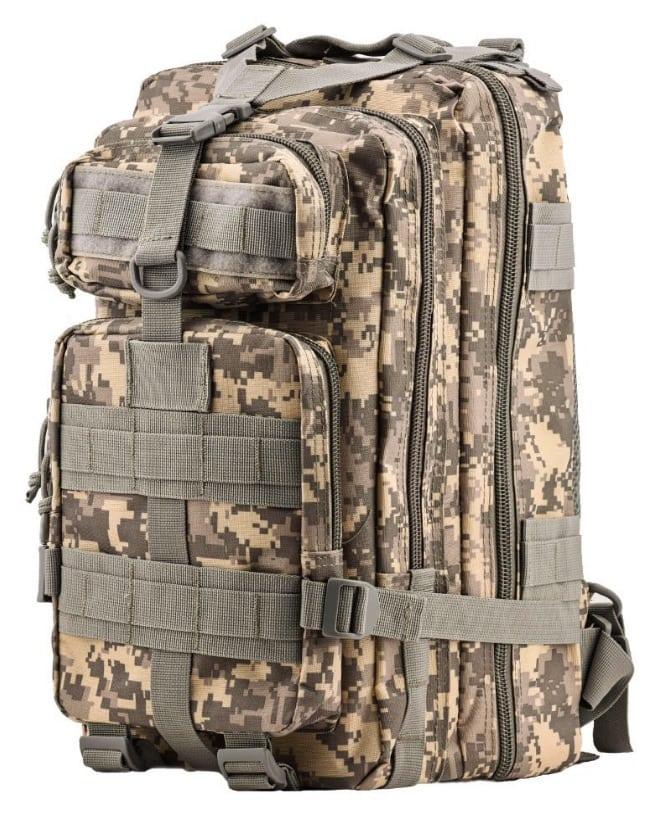 mochila de estilo militar de HUKOER