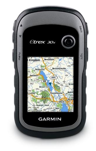 Garmin eTrex 30x, un GPS de mano con brújula de tres ejes, pantalla mejorada y mapas preinstalados
