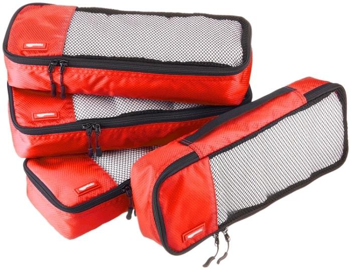 AmazonBasics - Bolsas de equipaje alargadas