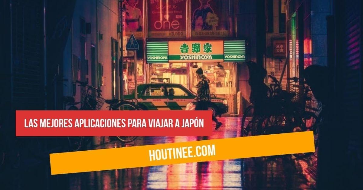 Las mejores aplicaciones para viajar a Japón