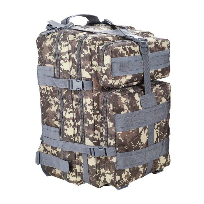 Segunda mejor opción como mochila militar: HUKOER Mochila Táctica