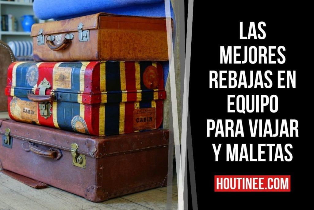 Las mejores rebajas en equipo para viajar y maletas (Amazon España)