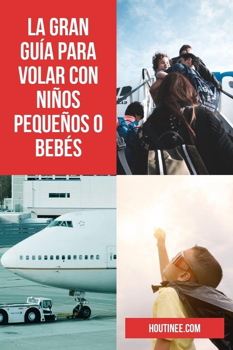 La gran guía para volar con niños pequeños o bebés