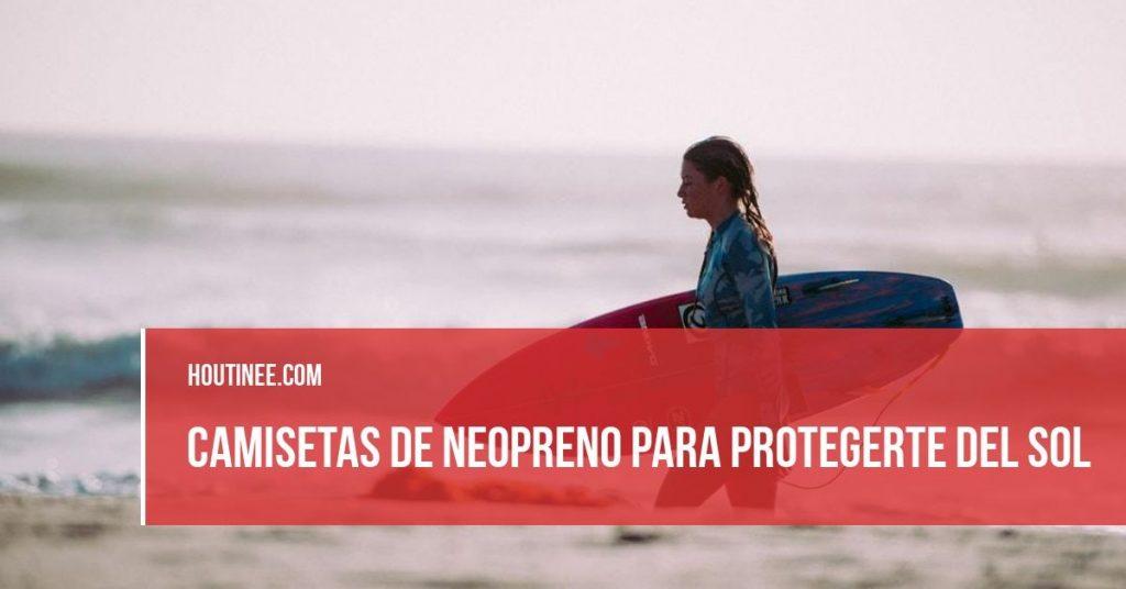 ¿Necesitas unas camisetas de neopreno para protegerte del sol cuando te bañas en verano?