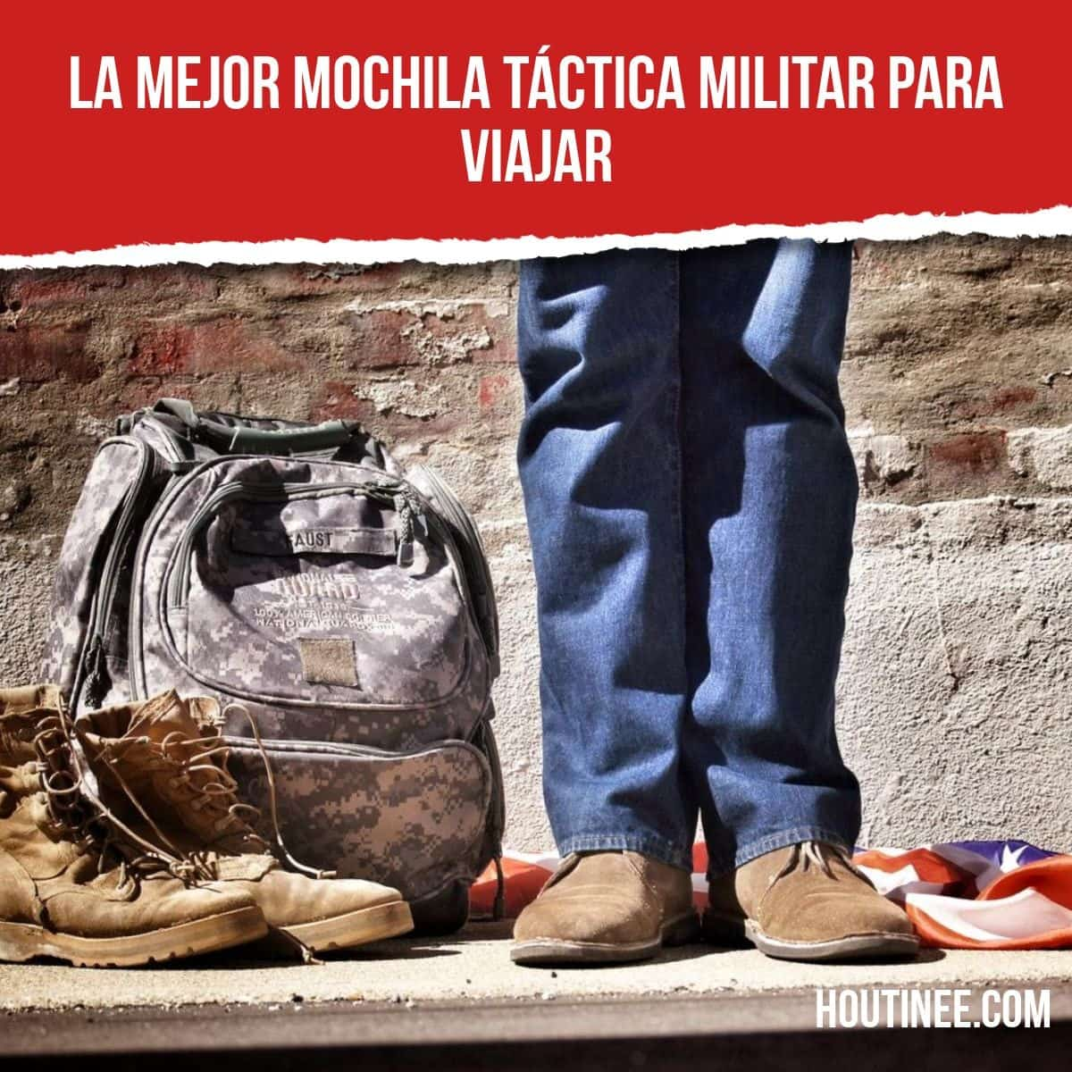 La mejor mochila táctica militar para viajar