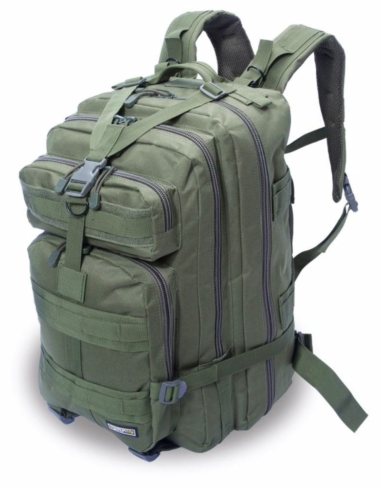 Tercera mejor opción como mochila táctica militar: Eyourlife 25-30L