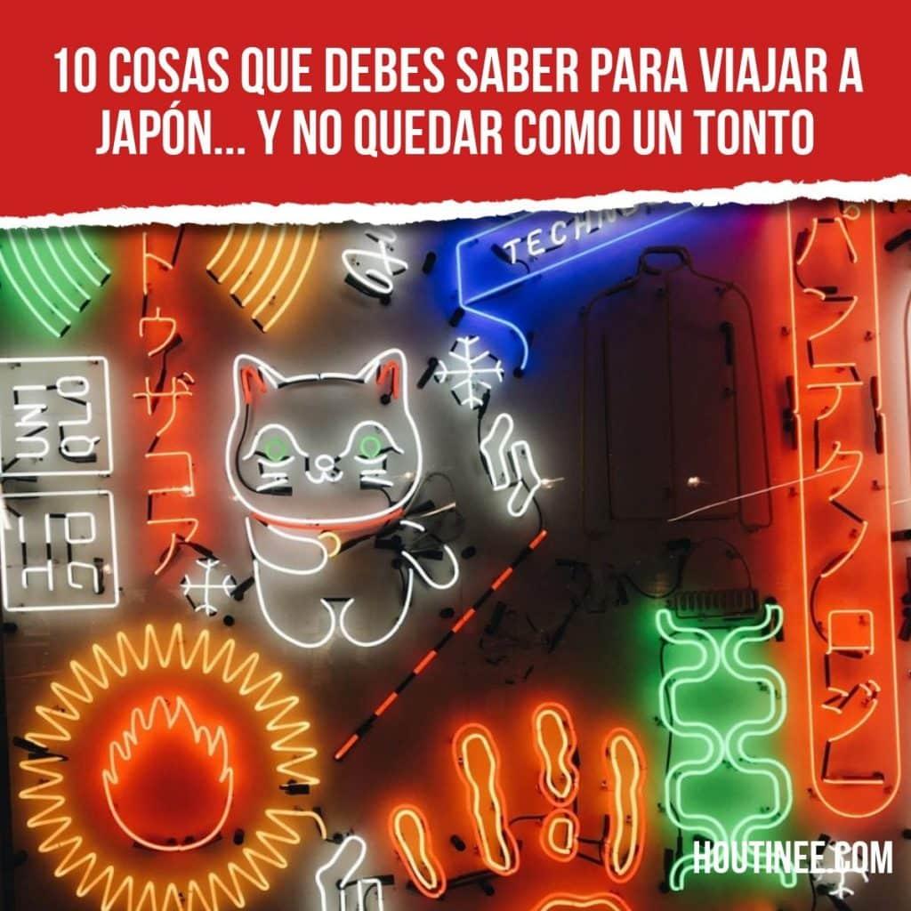 10 cosas que debes saber para viajar a Japón